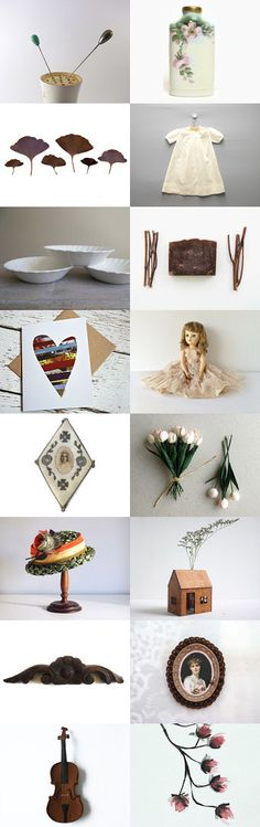 Spring Time Memories of GG by Untried on Etsy--Pinned+with+TreasuryPin.com