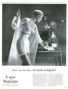 1954 Warners advertisement via flickr.