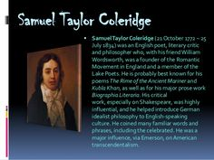 Samuel Taylor Coleridge Poems | Samuel Taylor Coleridge Poems The rime of the ancient mariner