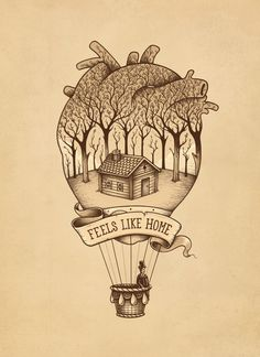 "Feels like Home Art Print by Enkel Dika. Worldwide shipping available at <a href=""http://Society6.com"" rel=""nofollow"" target=""_blank"">Society6.com</a>. Just one of millions of high quality products available."