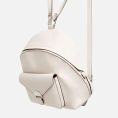 Image 4 of POCKET DETAIL BACKPACK from Zara