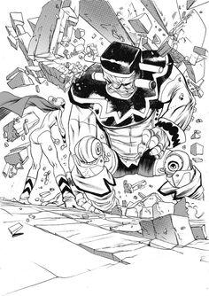 Kirby BOOM by JHarren on deviantART
