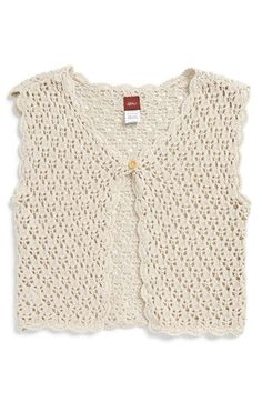 Tea Collection 'Catalina' Lace Cardigan (Toddler Girls, Little Girls & Big Girls)