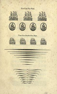 William Caslon – A specimen of printing types (1785)