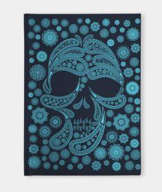 157c6854 Shop Mandala sugar skull sugar skull notebooks designed by as well as other sugar  skull merchandise at TeePublic.