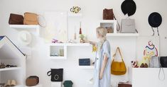 Small Boutiques Across the Country With Great Online Shops - Racked Small Boutique Ideas, Clothing Store Displays, Los Angeles Shopping, Kids Clothes Patterns, Online Clothing Boutiques, Consignment Online, Shopping Stores, Store Fronts, Decoration