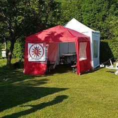 #Sanitätsdienst beim #OpenAir des #Juze #Backnang am 28.05.2016 auf dem Jugenfestplatz in Backnang-Strümpfelbach  #Demosanitäter #Demosanis #SGSW #Sandienst #Sanitäter #Sanitätsstation #jugendzentrum
