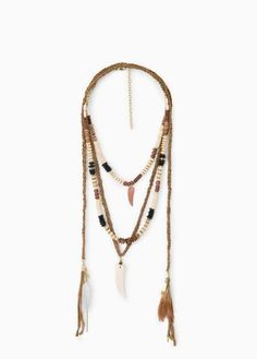 ☆ Boho necklace                                                                                                                                                                                 Más