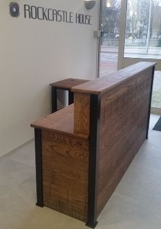 industrial receptionist desk - Google Search