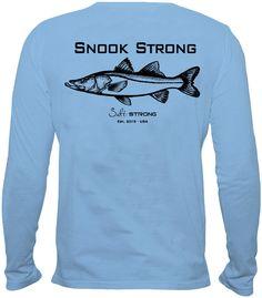 Snook Strong Performance Shirt