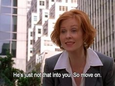 When she probably made whoever she said this to cry: | 19 Times You Wanted To Slap Miranda Hobbes