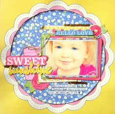 Sweet Sunshine {My Creative Scrapbook} - Scrapbook.com