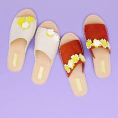 Learn how to make a pair of floral espadrilles with this easy style video tutorial.