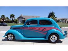 ✿1937 Ford Custom Sedan✿ Ford, Collector Cars, Street Rods, Old Cars, Hot Rods, Jeep, Trucks, Vehicles, Truck
