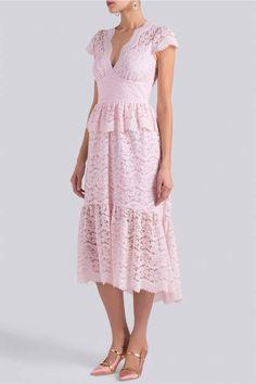 Modest Fashion, Boho Fashion, Luxury Fashion, Fashion Dresses, Long Sleeve Lace Gown, Short Sleeve Dresses, Emo Dresses, Lace Dresses, Party Dresses