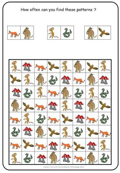 The Gruffalo. Easy and engaging pattern fun for visual discrimination. The Gruffalo. Easy and engaging pattern fun for visual discrimination. Gruffalo Activities, Counting Activities, Therapy Activities, Book Activities, Visual Motor Activities, Visual Perceptual Activities, The Gruffalo, Gruffalo Party, Gruffalo's Child