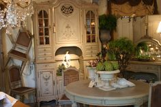 gorgeous French buffet