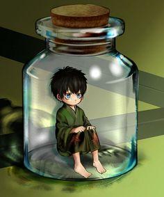 Tags: Anime, Pixiv Id 3507874, Gin Tama, Hijikata Toushirou, Bottle, In a Bottle, Pixiv Bottle