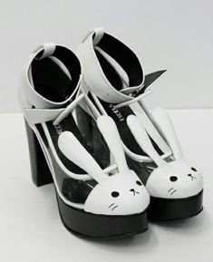 Bunny heels! Would you wear them? ♥