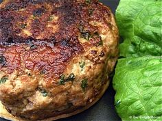 """basil pork burgers are one of our favorites! We add feta cheese into the middle of ours by creating two thin """"burgers,"""" putting a teaspoon of cheese in the middle of one and then smashing another one on top, sealing the cheese in the middle. I also had 2 teaspoons of lemon juice to each lb. of pork."""