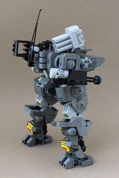 Harasser Light Asset 'Mech | Flickr - Photo Sharing! Lego Robot, Lego War, Lego Duplo, Robots, Lego Mechs, Lego Bionicle, Cool Lego, Awesome Lego, Legos
