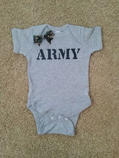 ARMY Onesie - unisex child clothing - Childrens Clothing - Ruffles wit – Ruffles with Love