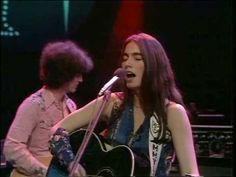"""Emmylou Harris-""""Luxury Liner."""" I had absolutely no appreciation for country music until Emmylou Harris burst upon the scene. That's the Hot Band she's playing with there, folks. And how about  freakin' Albert Lee and his unbelievable solo. Those must be flame retardant strings. He is just the bomb."""