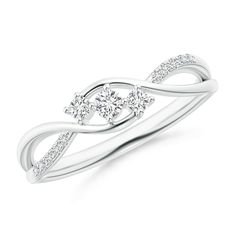 Romantique Crown Couronne Zircon Cœur Cristal Mariage Bague Bijoux Bande Cadeau