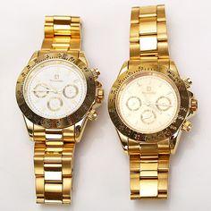 Biaoqi Quartz Watch with Strips Indicate Steel Watch Band for Men #Biaoqi #LuxurySportStyles