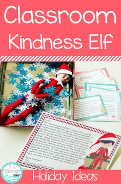 """Ok, so I must admit...I was nervous about jumping on the """"Elf"""" bandwagon. After all, do students really need one more reason to lose the..."""