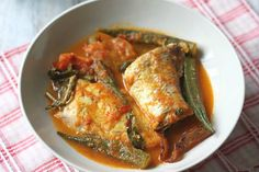 Assam Pedas Fish (Sour and Spicy Fish)