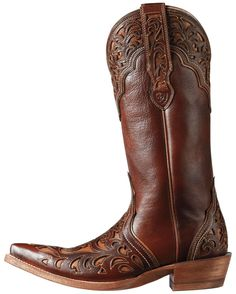 Ariat is a performance footwear and clothing brand with an emphasis on technology and innovation. Custom Boots, Country Outfitter, Cowgirl Boots, Footwear, Pairs, Turquoise, My Style, Brown, Shoes