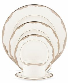 kate spade new york Dinnerware, Trimble Place 5 Piece Place Setting
