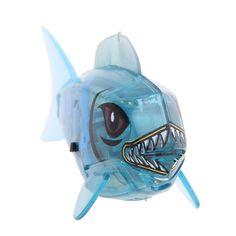 Keren baru Diaktifkan Baterai Powered Robo Ikan Mainan kods Childen Anak Mandi mainan Robot Pet Elektronik Hewan Mainan # 1JT