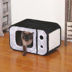 "13""+TV+Cat+Condo+by+PetPals+PP4120"