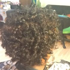 Rod Set on All Natural Hair