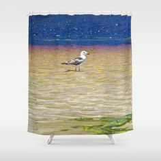 The Red Else Shower Curtain by crismanart Shower Curtains, Prints, Red