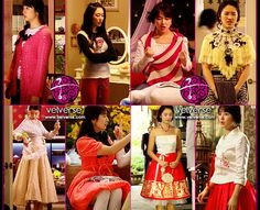 Love her clothes. Eun Hye as Shin Chae-kyeong from Goong/Princess Hours. Princess Hours, Yoon Eun Hye, Goong, Korean Hanbok, Modern Princess, Fashion Tv, S Pic, Pink Tops, Palace