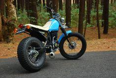 Yamaha tw 200 modded to 225 scorpio