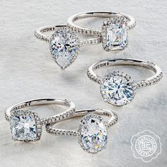 Take your center-stone to a new level with a little elevated illusion effect. Our Simply Tacori collection is freshly elevated with an exquisitely strong yet delicate setting with pavé-set diamonds on a more refined, thinner band delicate band. Now let it bloom with amped-up diamond accents for a unique luminosity light-play. #Tacori #TacoriRing #engagementring #haloring #TacoriBloom #engagementringinspo #DreamRing Tacori Rings, Tacori Engagement Rings, Halo Rings, Dream Ring, Illusions, Diamond Earrings, Bloom, Band, Stone