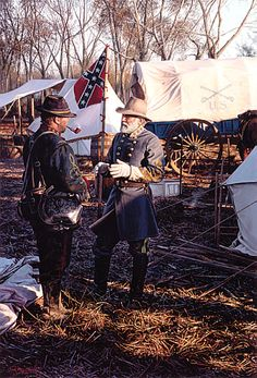 General Lee and Col Hilary P Jones