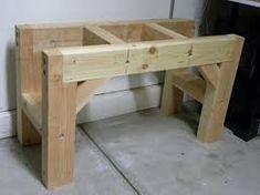 Resultado de imagem para wooden workbench plans free