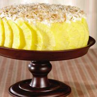 Carlo's Bakery Pina Colada Cake by Buddy Valastro The Cake Boss