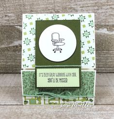 Fancy Fold Cards, Folded Cards, Welcome To The Team, Farewell Parties, Coffee Cards, Craft Cards, Stampin Up Catalog, Paper Pumpkin, Ink Pads