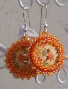 Button Earrings | Flickr - Photo Sharing!