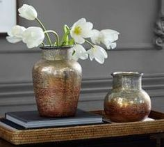 Hazel Ombre Mercury Vase