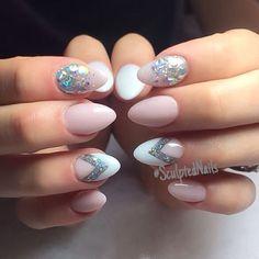 @glitter_heaven_australia #brokenmirrors and #silverish #glitterheaven @cndworld #coolpink #coloracrylic #cnd #sculptednails #notpolish #nudenails #glitternails #silver #silvernails #white #whitenails #pink #pinknails #chevron #chevronnails #21stbirthday #birthdaynails #birthday #ombre #ombrenails #notd #instanails #nailsofinstagram #acrylicnails #sculptednailsottawa #ottawanails #ottawa