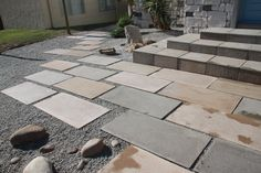 Kent Random Edge Pavers - Create a Zen look in any outdoor area with these stunning pavers. Available in 16 beautiful colours.