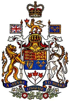Coat of arms of Canada (1957) - Arms of Canada - Wikipedia, the free encyclopedia: JAPAN 333r_ 1/2 Evil - 666 DRAGON, Satanic Hierarchy Wicca/Church tm.