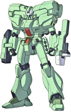 The RGM-89DEW EWAC Jegan is a reconnaissance version of the RGM-89D Jegan D Type from the novel adaptation of the game Mobile Suit Gundam UC [The Postwar].